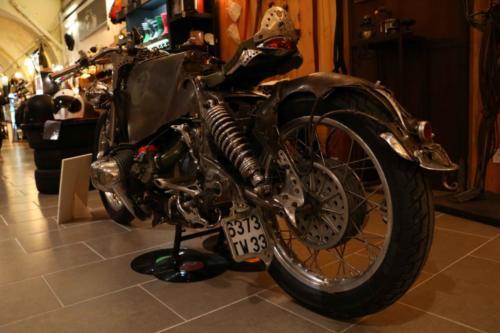 Moto steampunk Bordeaux